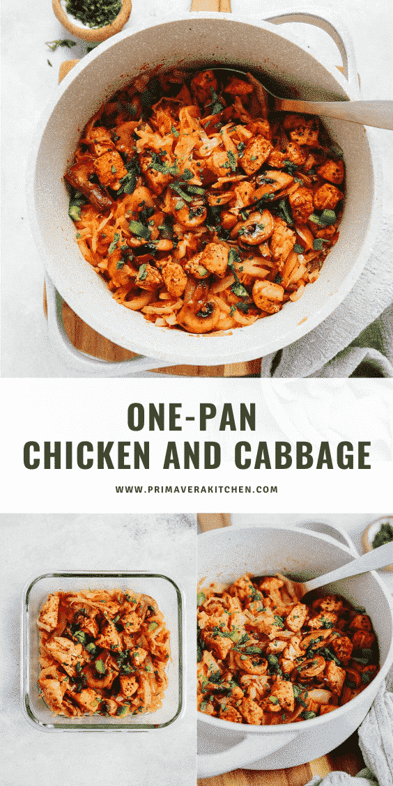 One-Pan Chicken and Cabbage (Meal-Prep)