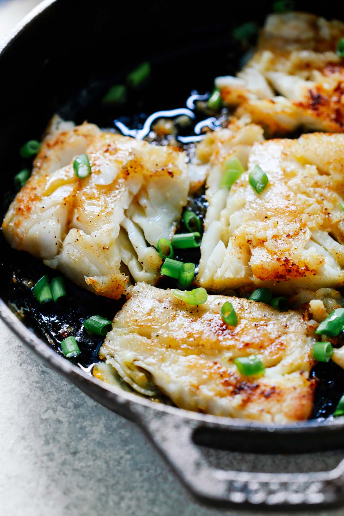 Cod Fish Recipe With Garlic Butter Sauce Primavera Kitchen