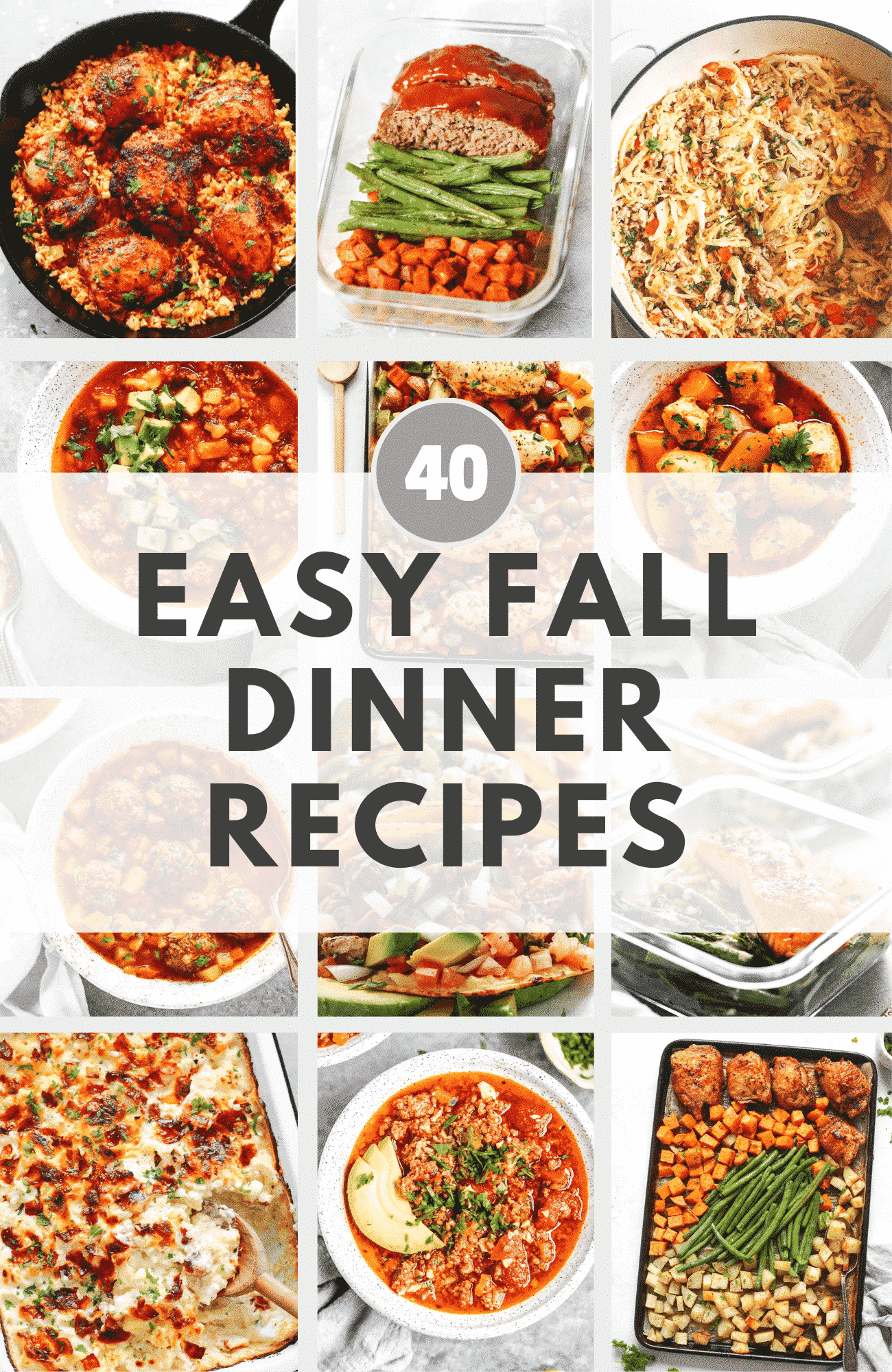 Easy Fall Dinner Recipes
