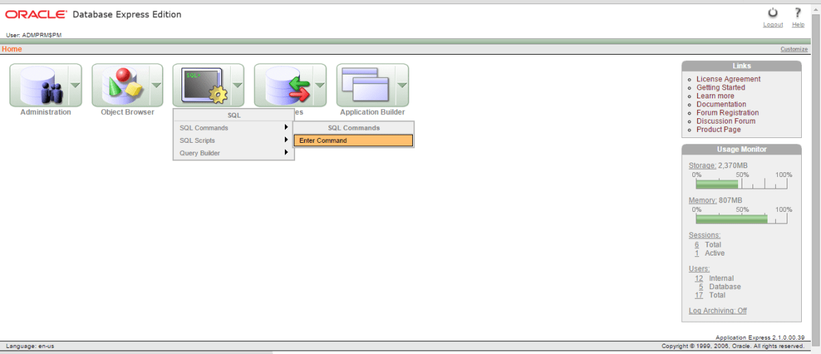 Delete POBS Data in an Oracle XE Database   Primavera Scheduling