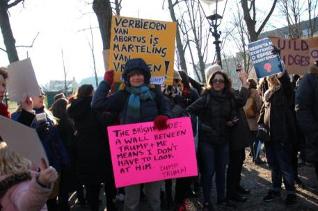 vrouwen demo den haag 036