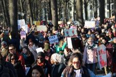 vrouwen demo den haag 047
