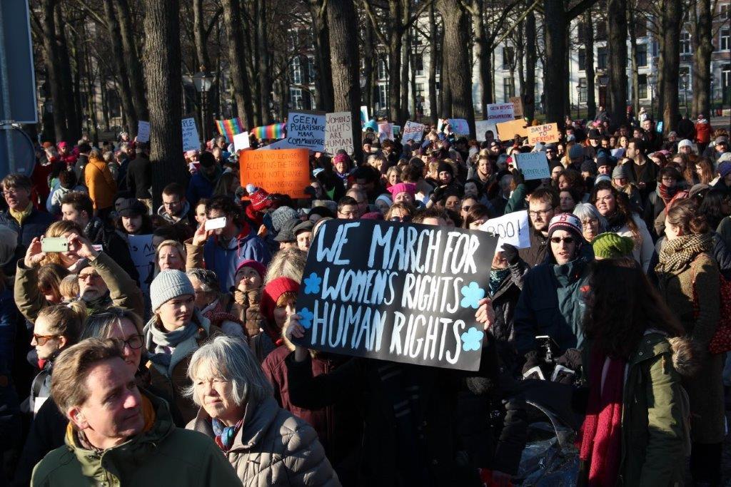 vrouwen demo den haag 051