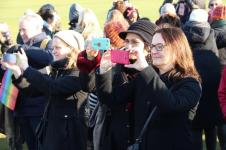 vrouwen demo den haag 070