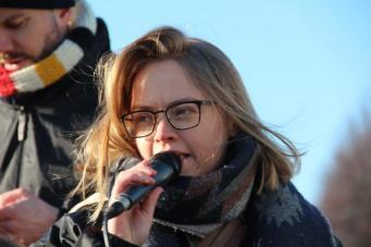 vrouwen demo den haag 079