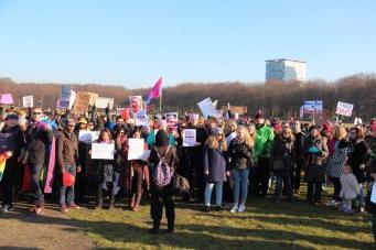 vrouwen demo den haag 082