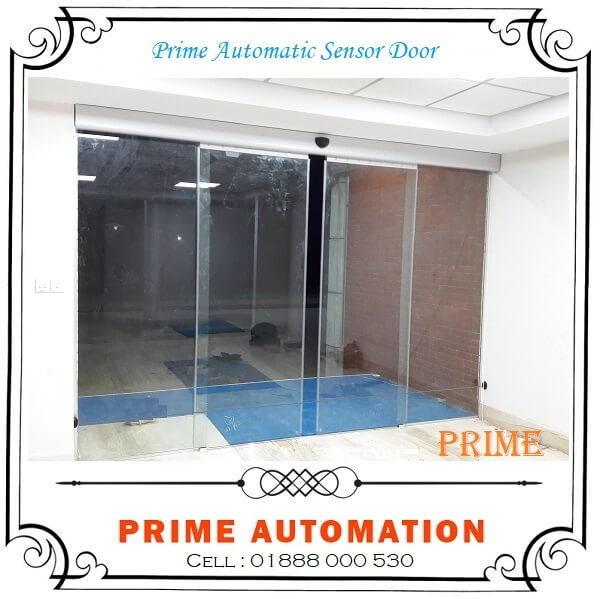 PRIME Automatic Sliding Sensor Glass Door Price in Bangladesh