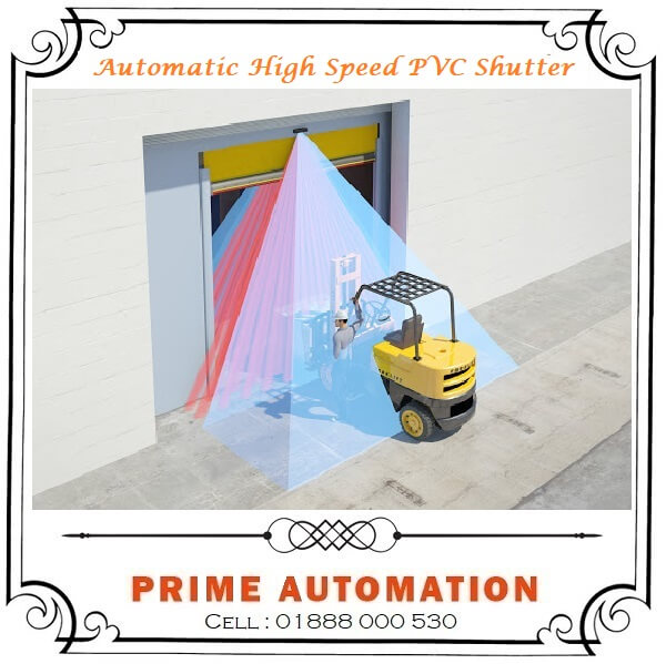 Automatic High Speed PVC Shutter in Bangladesh