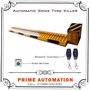 Automatic One Way Road Barrier Spike Tyre Killer in Bangladesh