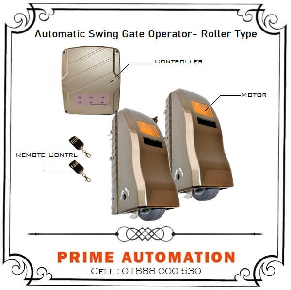 Automatic Swing Gate Operator Roller Type