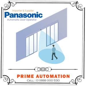 PANASONIC Automatic Glass Sliding Sensor Door