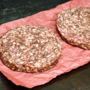 Rinderburger 2x180g (getaut) (1,99€/100g)