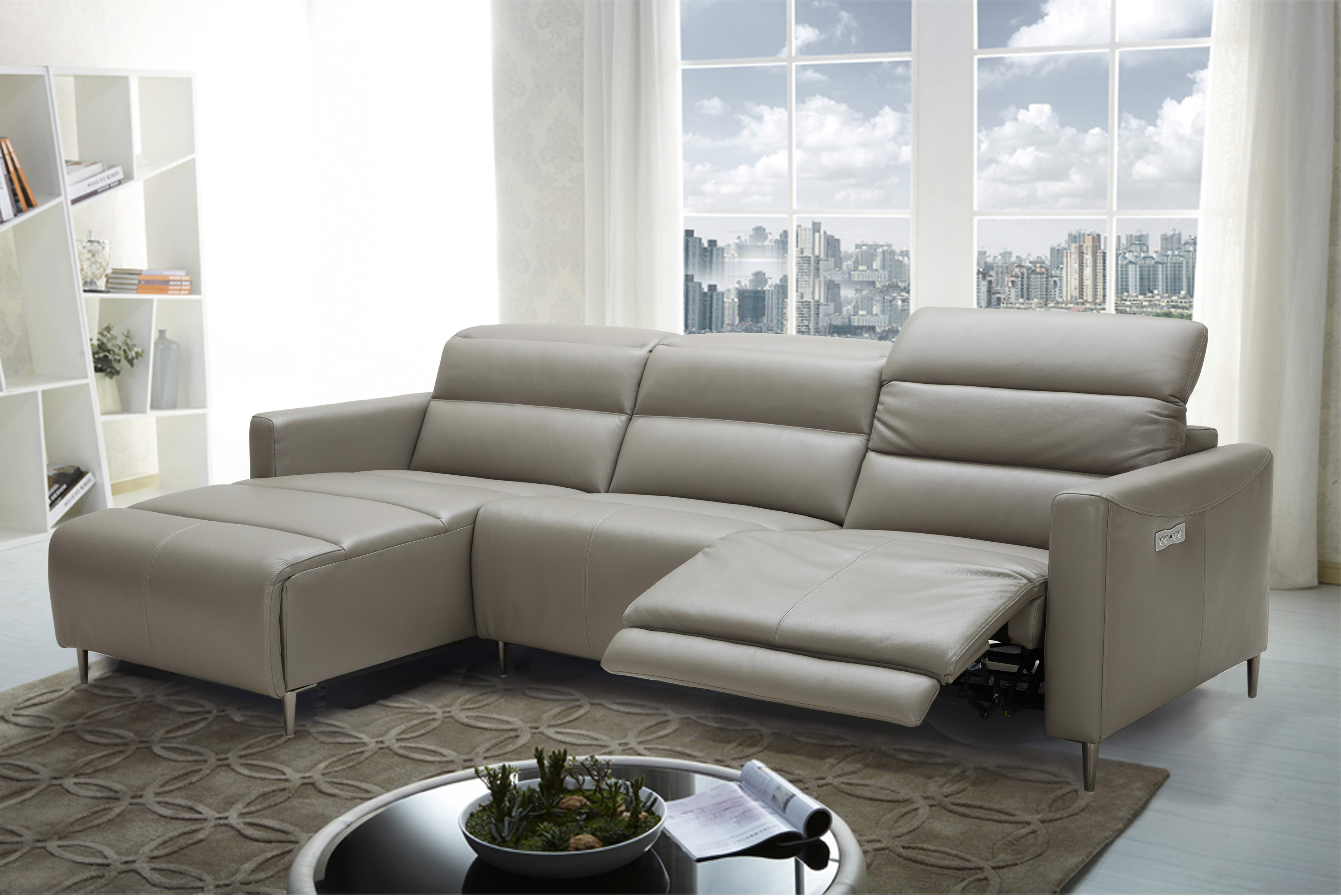 Living Room Furniture Leather