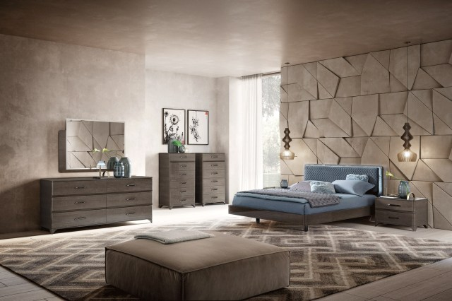 Made in Italy Quality Modern Master Bedroom Houston Texas ...