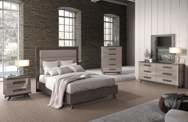 Made in Italy Leather Luxury Contemporary Furniture Set ...