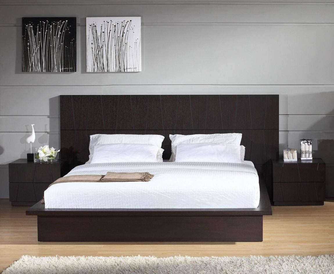 Stylish Wood Elite Platform Bed Washington DC BH ANCHOR