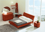 Leather bedroom sets