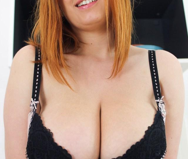 Alexsis Faye Oiled Tits Redhead 5