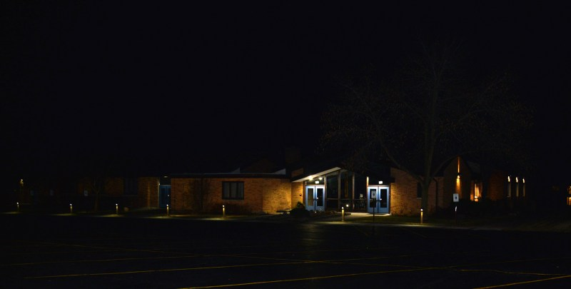 Outdoor Exterior Uplighting | Prime Electric Commercial Electrical Services