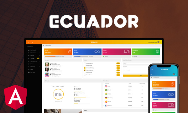 Ecuador for PrimeNG