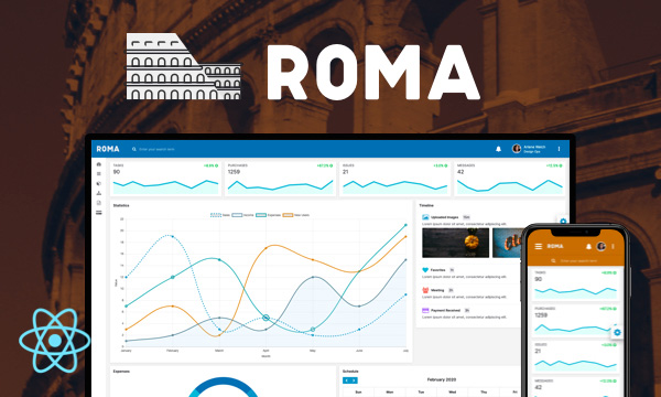 Roma for PrimeReact
