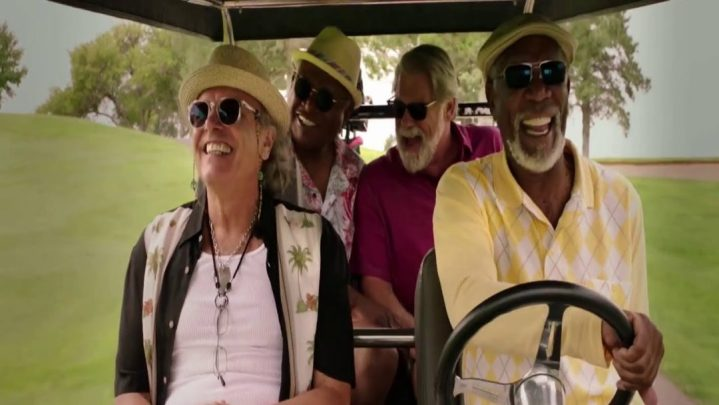Morgan Freeman & Tommy Lee Jones in Just getting started