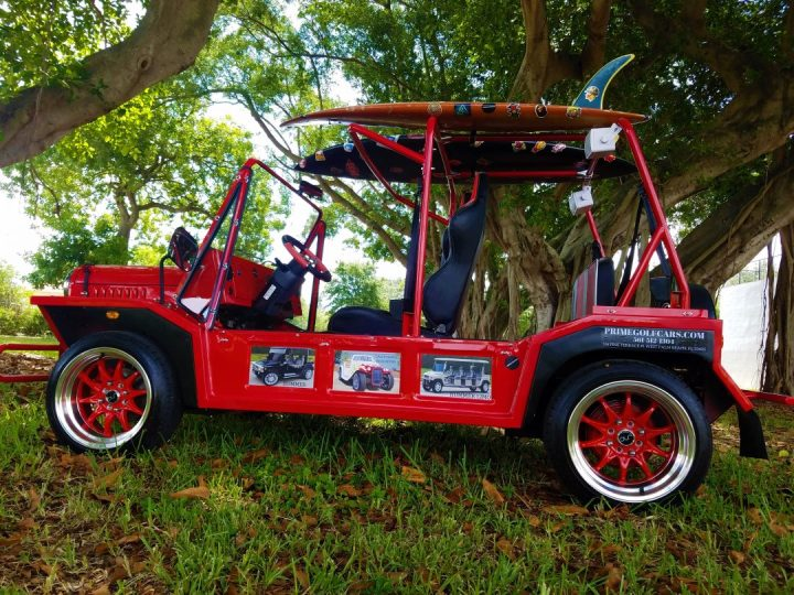 Red Moke Prime Golf Cars