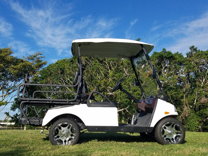 t sport golf car side view