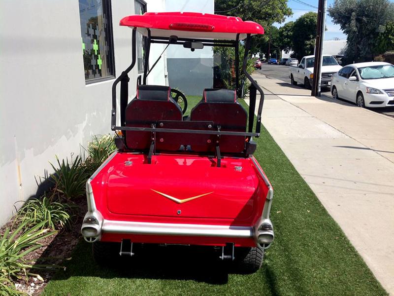 57 chevy golf car, 57 chevy golf cart