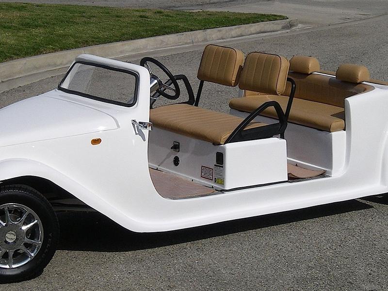 california roadster limo golf car, california roadster golf cart