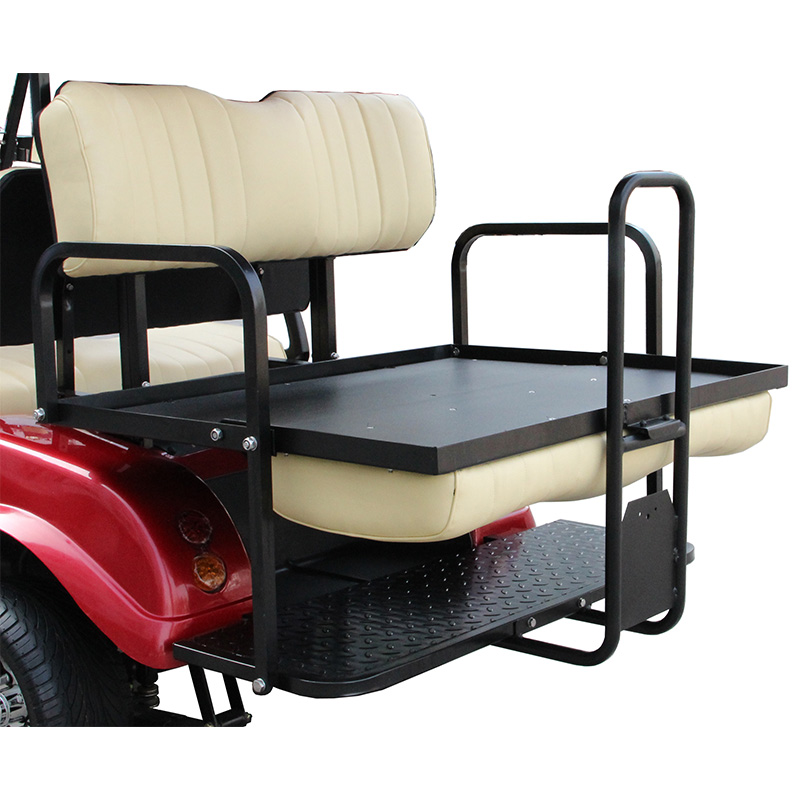 rear flip seat on a forester golf car