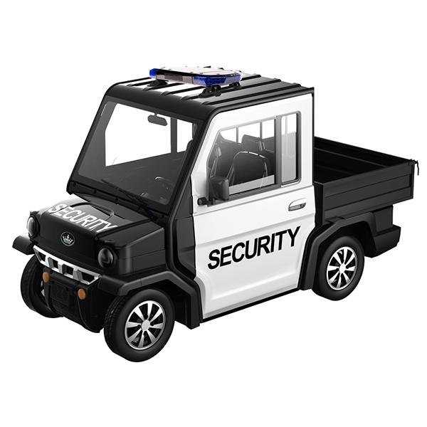 revolution electric cart security cargo, custom golf cart