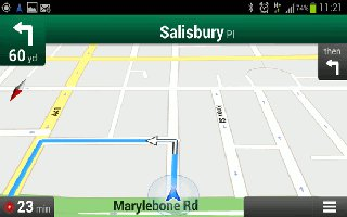 How To Use Navigation On Samsung Galaxy S3