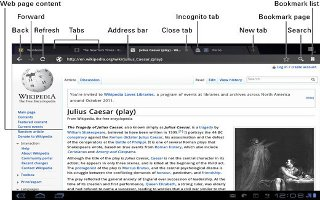 How To Use Internet Bookmarks And History On Samsung Galaxy Tab 2