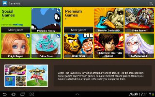 How To Use Game Hub On Samsung Galaxy Tab 2