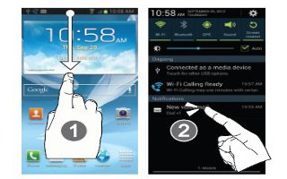 How To Use Notifications On Samsung Galaxy Note 2