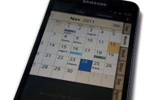 How To Use Calendar On Samsung Galaxy Note 2