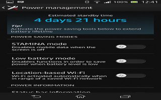 How To Improve Battery Life On Sony Xperia Z