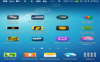 How To Add And Delete Home Screens On Samsung Galaxy S4