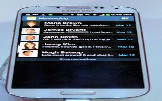 How To View Received Messages On Samsung Galaxy S4