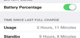 iphone 5c battery life