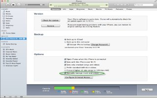 How To Sync With iTunes - iPhone 5C