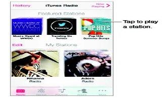 How To Use iTunes Radio - iPhone 5S