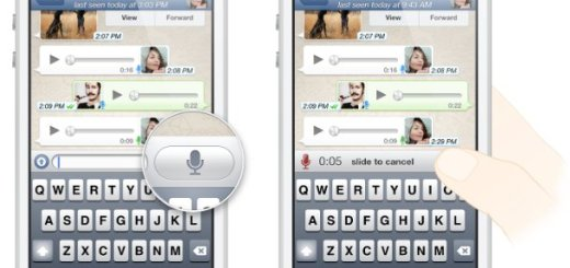 How To Use Voice Messages - WhatsApp
