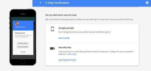 Google Prompt