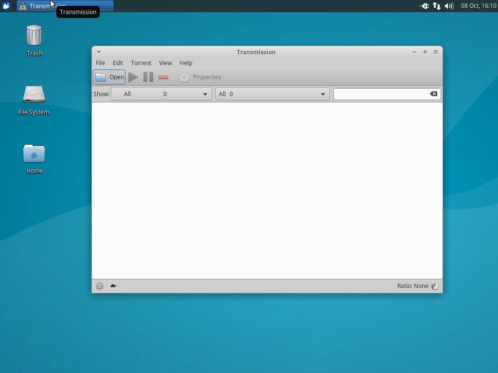 Transmission GTK For Linux