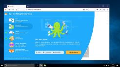 Mozilla Firefox Photon UI For Windows - Tips Screen To Add Extensions