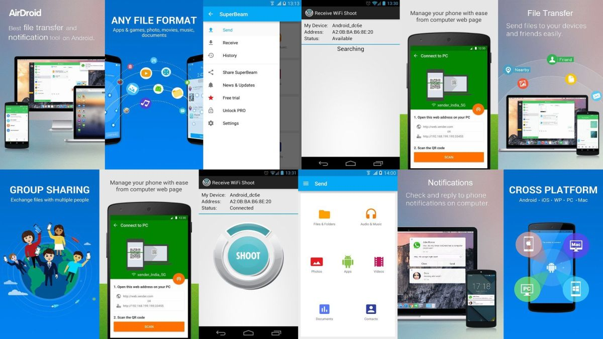 6 Best Free Wifi File Transfer Apps For Android