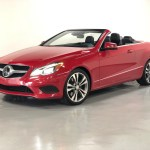Used 2014 Mars Red Mercedes Benz E Class Convertible E 350 For Sale Sold Prime Motorz Stock 2711