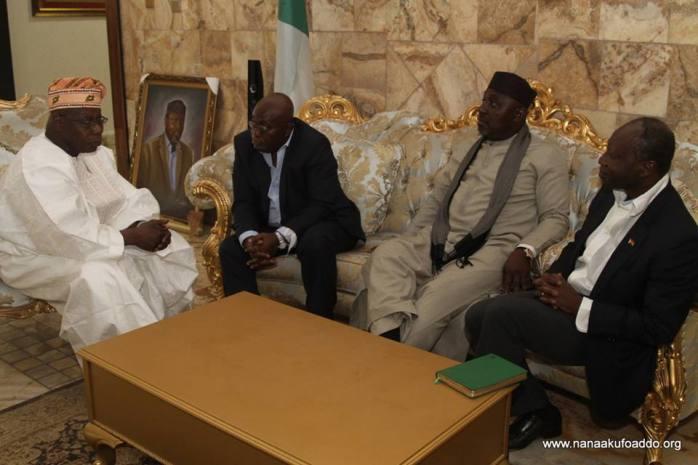 Résultats de recherche d'images pour «Obasanjo Nana Akufo Addo»